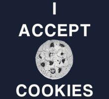 I accept cookies Kids Tee