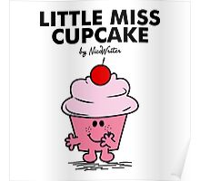 Little Miss Cupcake Poster