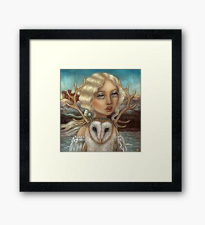 Skye and Finias Framed Print