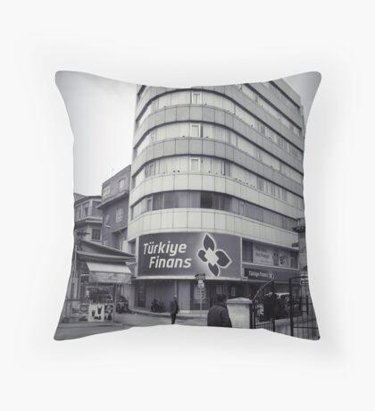 Finans center Throw Pillow
