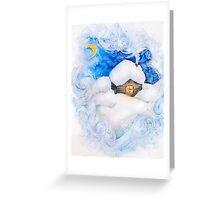 Winter fairy tale Greeting Card