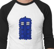 TARDIS Men's Baseball ¾ T-Shirt