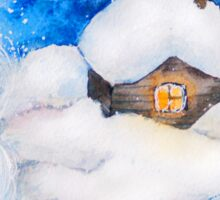 Winter fairy tale Sticker