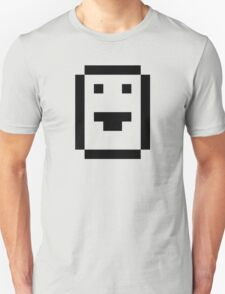 Ascii Smiley MS-DOS Retro Computer Screen Letter T-Shirt