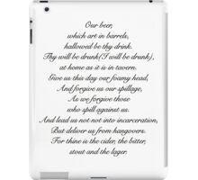 Beer Prayer iPad Case/Skin