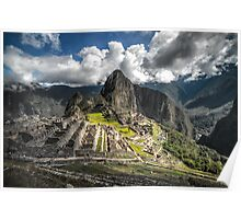 Machu Picture Poster
