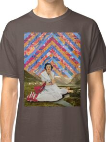 Psychedelic sky Classic T-Shirt