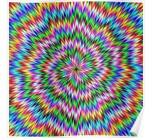 Psychedelic Swirl Poster