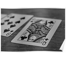 Cards on the table Poster