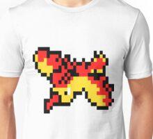 8 Bit Moltres Unisex T-Shirt