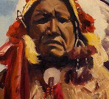 Chief Red Cloud by Max DeBeeson