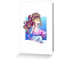 Mermaid Kotori. Greeting Card