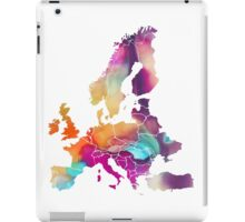 Europe Map colored iPad Case/Skin