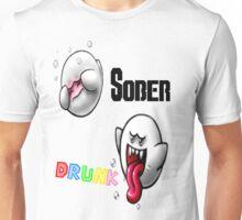 Sober/Drunk Boo Unisex T-Shirt