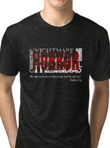 What is HORROR Tri-blend T-Shirt