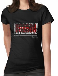 What is HORROR Womens Fitted T-Shirt