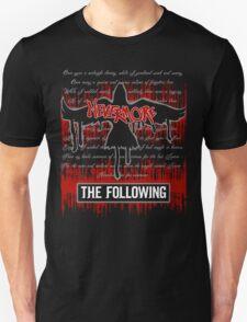 The Following: Raven in Flight Unisex T-Shirt