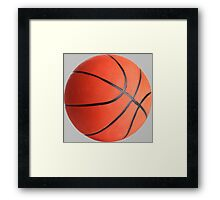 Basketball - Street Ball Framed Print