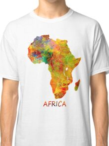 Africa map Classic T-Shirt