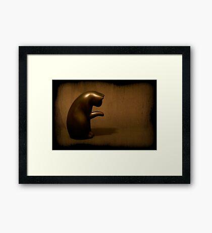 I Am A Meow Cat Framed Print