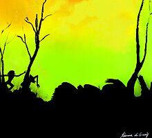 Sleeping giant (green) by Artistkaz