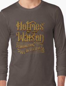 Holmes & Watson Long Sleeve T-Shirt