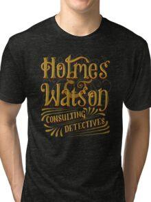 Holmes & Watson Tri-blend T-Shirt