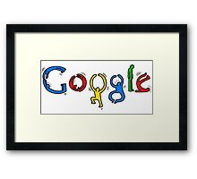 Keith Haring Google Framed Print