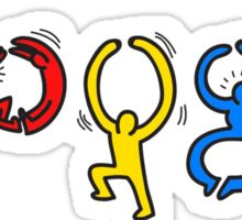Keith Haring Google Sticker