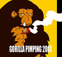 Gorilla Pimpin 2013 by DTM CreativeGenius