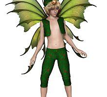 Christmas Fairy Elf Boy by algoldesigns