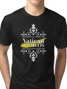 Vatican Cameos!  Tri-blend T-Shirt