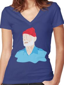 This is an adventure! Women's Fitted V-Neck T-Shirt