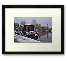 Stratford Upon Avon in the Snow (5) Framed Print