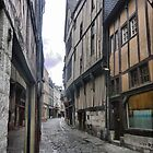 The Streets of Rouen ( 1 ) by Larry Davis