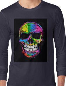 Skull colors 2 Long Sleeve T-Shirt