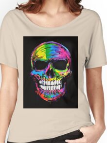 Skull colors 2 Women's Relaxed Fit T-Shirt
