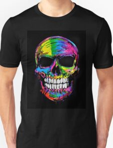 Skull colors 2 Unisex T-Shirt