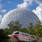 Monorail Red by Brett Kiger