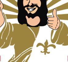Unique Jesus Ugly sweater Sticker