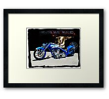 """Boys & Their Toys"" Framed Print"