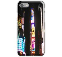 Times Square iPhone Case/Skin