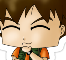 Chibi Brock Sticker