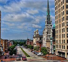 Harrisburg the state capital by vigor