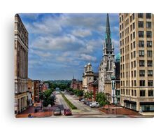 Harrisburg the state capital Canvas Print