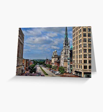 Harrisburg the state capital Greeting Card