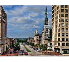 Harrisburg the state capital Photographic Print