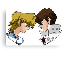 Joey x Seto - The force of Yu-Gi-Oh! Canvas Print
