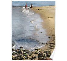 Ferry Landing Beach Poster