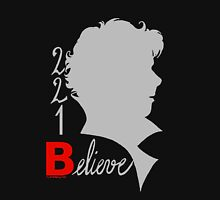 221B: Believe! Womens Fitted T-Shirt